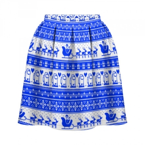 - People 1 Skirt Sun Front White 500 12