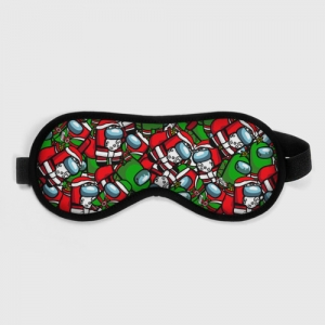 Collectibles Sleep Mask Santa Imposter Among Us
