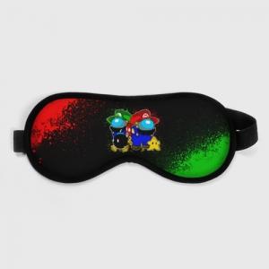 Collectibles Sleep Mask Among Us Mario Luigi