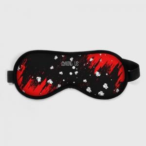 Collectibles Sleep Mask Among Us Blood Black