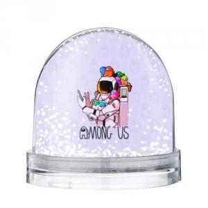 Merch - Spaceman Snow Globe Among Us Crewmates