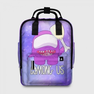 Merchandise - Women'S Backpack Among Us Imposter Purple