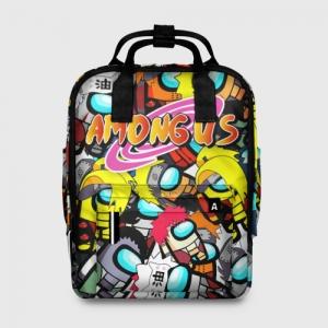 Merchandise - Women'S Backpack Naruto X Among Us Crossover