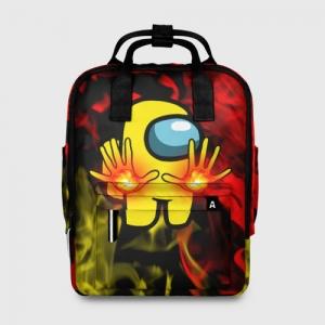Merchandise - Fire Mage Women'S Backpack Among Us Flames