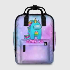 Merchandise - Among Us Women'S Backpack Rainbow Unicorn