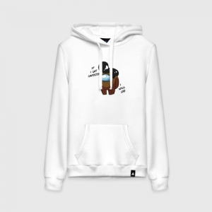 - People 1 Woman Hoodie Front White 500 71