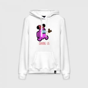 Collectibles Women'S Cotton Hoodie Among Us Minnie Mouse