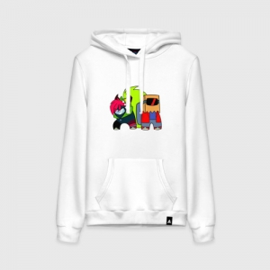 - People 1 Woman Hoodie Front White 500 80