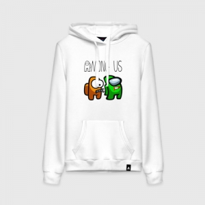 - People 1 Woman Hoodie Front White 500 82