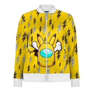 Collectibles Yellow Track Jacket Among Us Pikachu