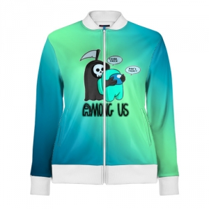 Collectibles Track Jacket Among Us Death Behind Cyan