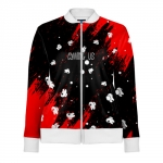 - People 1 Woman Track Jacket Front White 500 91