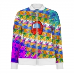 - People 1 Woman Track Jacket Front White 500 92