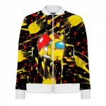 - People 1 Woman Track Jacket Front White 500 93