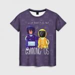 Merchandise Women'S T-Shirt Among Us Mates Among Us Purple