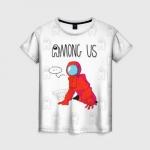 Merchandise Red Crewmate Women'S T-Shirt Among Us