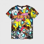 Collectibles Women'S T-Shirt Among Us X Naruto Crossover
