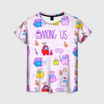 Collectibles Pattern Women'S T-Shirt Among Us Crewmates