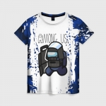 Collectibles Women'S T-Shirt Among Us Swat White Blue