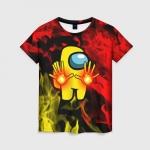 Merchandise Fire Mage Women'S T-Shirt Among Us Flames