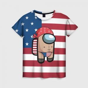 Collectibles Women'S Shirt Among Us American Boy Ricardo Milos