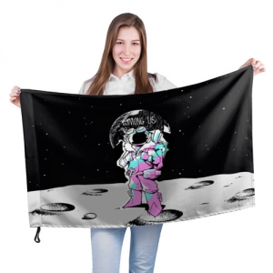 - People 201 Flag Big Front White 500 154