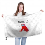 Merch - Red Crewmate Large Flag Among Us