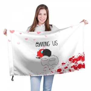 - People 201 Flag Big Front White 500 162