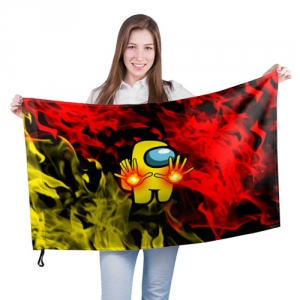 - People 201 Flag Big Front White 500 164