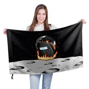 - People 201 Flag Big Front White 500 165
