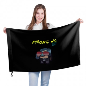 - People 201 Flag Big Front White 500 166
