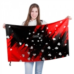 - People 201 Flag Big Front White 500 167