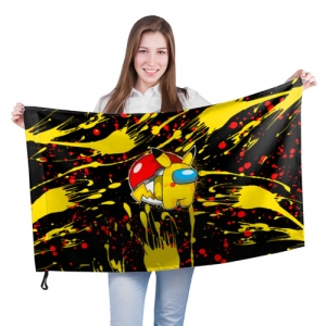 Merchandise Among Us Large Flag Sus Blot