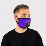 Collectibles - Gradient Face Mask Among Us Purple