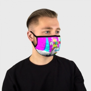 Merch Rainbow Face Mask Unicorn Among Us