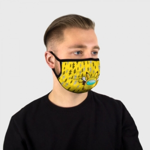 Collectibles Yellow Face Mask Among Us Pikachu