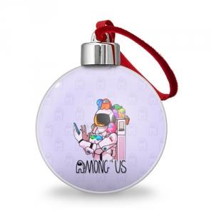 Merch Spaceman Christmas Tree Ball Among Us Crewmates