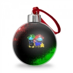- People 2 Christmas Tree Ball Front Transparent 500 181