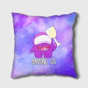 Merch - Cushion Among Us Imposter Purple