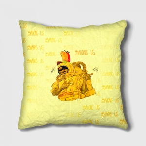 Collectibles Cushion Among Us Yellow Imposter Pointing