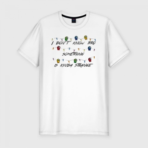 - People 2 Man Tshirt Premium Front White 500 85