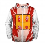 - People 2 Man Windbreaker Front White 500 94