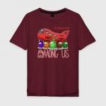 Merch Airship Cotton T-Shirt Oversize Among Us