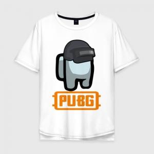 Merch Cotton T-Shirt Oversize Pubg Among Us