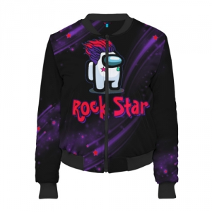 Merchandise Among Us Rock Star Women'S Bomber