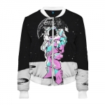 - People 2 Woman Bomber Front White 500 77