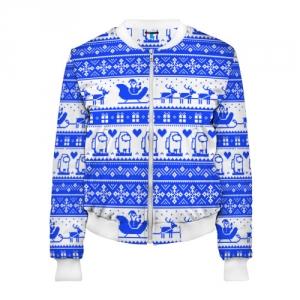 Merchandise Women'S Bomber Among Us Christmas Pattern