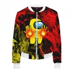 - People 2 Woman Bomber Front White 500 81