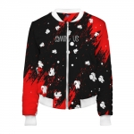 - People 2 Woman Bomber Front White 500 88