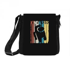 Collectibles - Shoulder Bag Kinda Sus Among Us Black